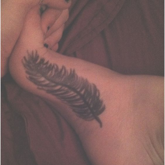 My personal feather. :): Personal Feather, My Style