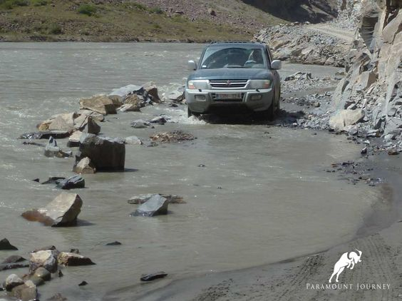 Now you know what is the lack of roads #Tajikistan, #Pamirs, #Bartang, #Jeep tour, #Adventure