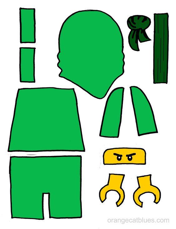 Gallery For gt Green Ninjago Printables
