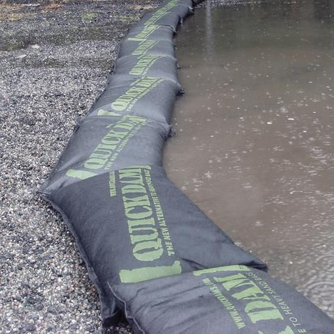 Quick Dam Flood Bags 12 X 24 Box Of 20 Flood Barrier Sand Bag Bags