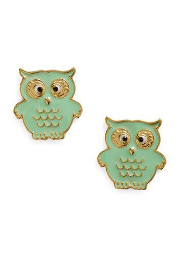A Little Owl Told Me Earrings
