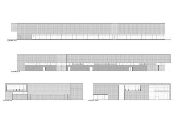 New Swimming Center in Brescia,Elevation
