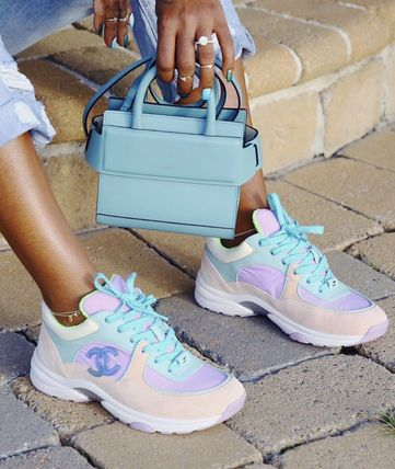 Sneakers fashion, Chanel boots