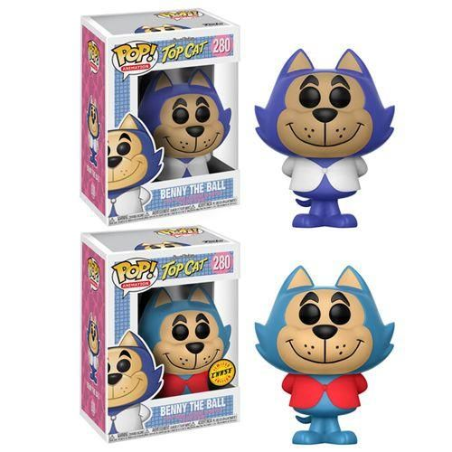 Funko Hanna Barbera POP 1 in 6 chance of Chase Variant Benny the Ball POP #1