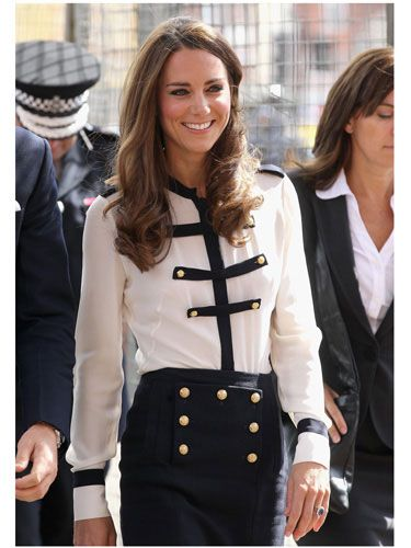 kate middleton... So Prince William wassupposed to marry me but since he didn't I'm glad he chose her ;) Love her!