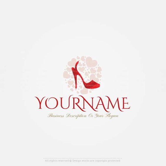 free logo maker shoes store logo design luxury fashion logo design collection pinterest