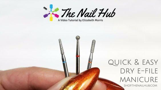 Quick & Easy Dry E-File Manicure