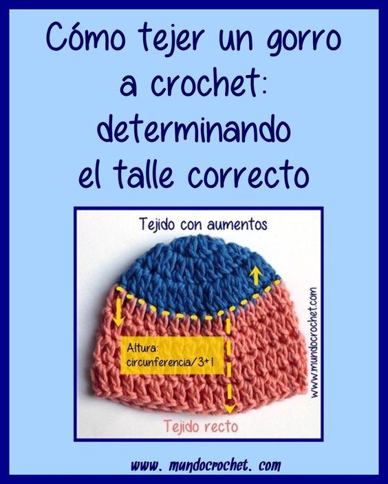 Cómo tejer un gorro a crochet: determinando el talle correcto