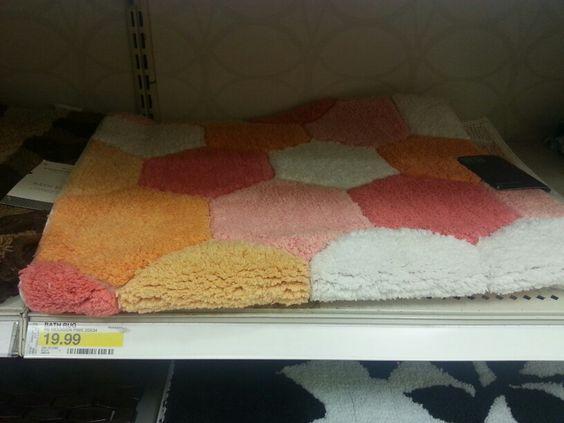 Girls bathroom rug @ Target