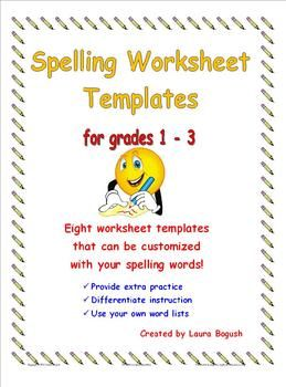 Worksheet Microsoft Word Worksheet spelling worksheets and on pinterest worksheet templates make it easy to create your own with words