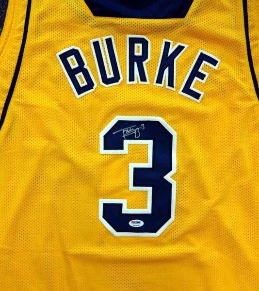 Trey Burke Autographed Michigan Wolverines Yellow Jersey PSA/DNA