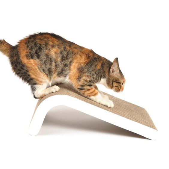 A cat scratching pad that'll fit in with your minimalist living room design…