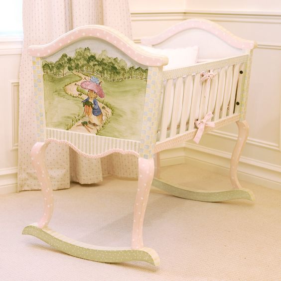 Beatrix potter baby rooms and peter rabbit on pinterest for Beatrix potter bedroom ideas