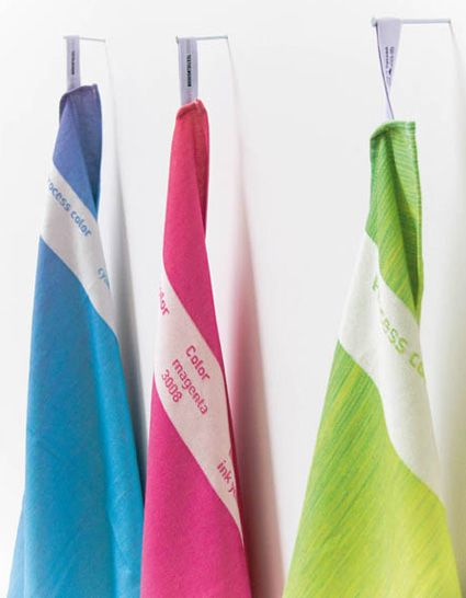 #cmyk towels by Cathelijn Kruuneberg
