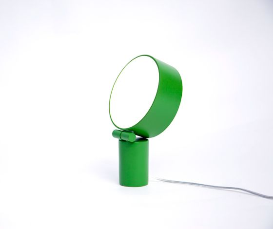 'Lightworks - Disc' table lamp by Jonas Wagell Dailytonic