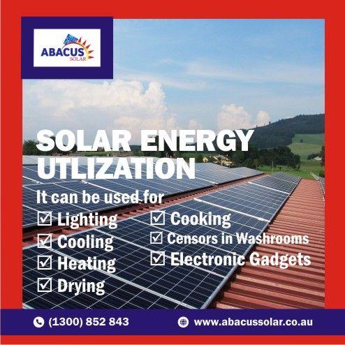 Solar Energy Utilization Solar Energy Solar Renewable Sources Of Energy