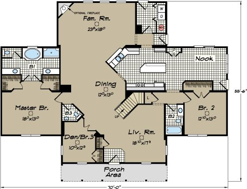 North Carolina Modular Home Floor Plans Lynnwood Iv Cape