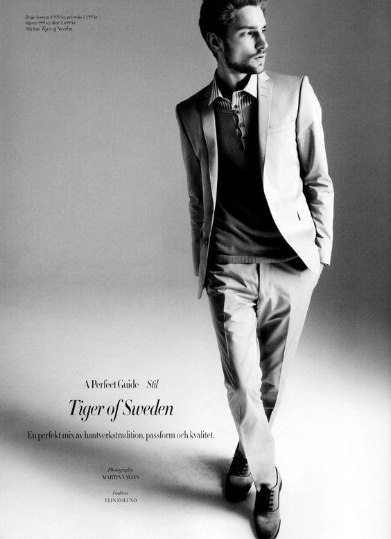 Fashion class male posing
