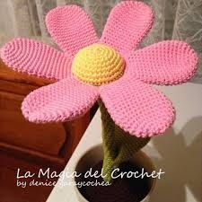 Resultado de imagen para flores al crochet amigurumi