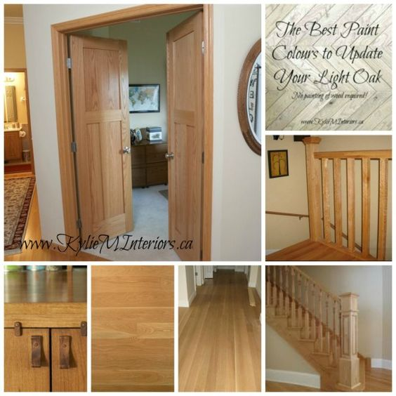 The Best Kitchen Wall Color For Oak Cabinets Kelly: The Best Paint Colours To Go With Oak (Trim, Floor