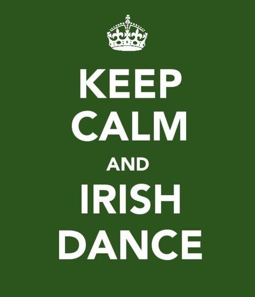 Irish dance. Oh yeah, gotta Riverdance @Kim Hardin