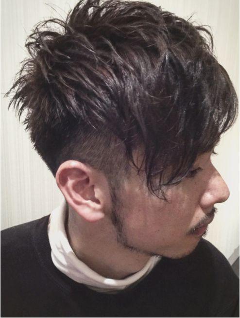 ホロホロヘアー Hair ホロホロhair メンズ アシンメトリー 外国人風 メンズ アシンメトリー パーマ 種類 髪型 メンズ ツーブロック