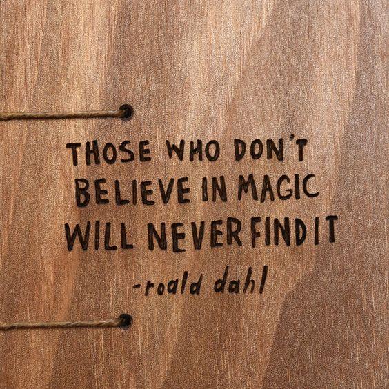 Man muss an Magie glauben
