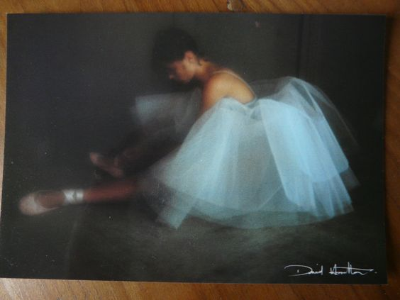 Carte Postale Postcard Photo David Hamilton Danseuse | eBay: