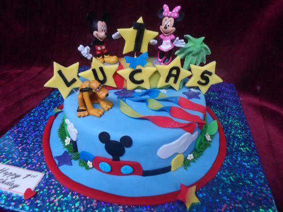 Mickey mouse birthday cake nz