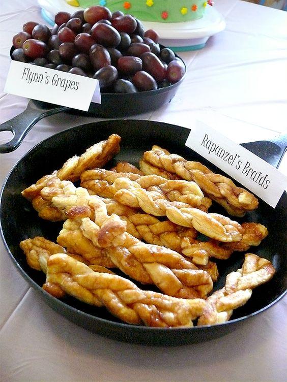 disney-princess-party-ideas-rapunzel-braided-bread-rolls