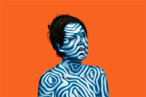 Contrastes, bold shapes e cores fluorescentes. Conheça o trabalho cool de Marina Esmeraldo!