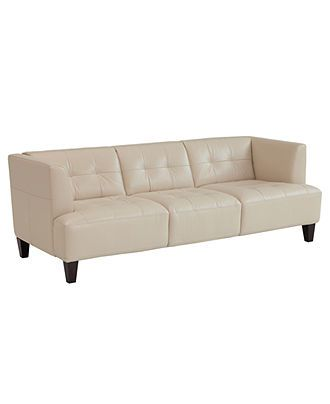 Alessia leather sofa sofa furniture leather and mad men for Alessia leather chaise