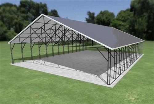 40x52 Vertical Carport Metal Building Alan S Factory Outlet In 2020 Metal Buildings Metal Building Prices Metal Carports