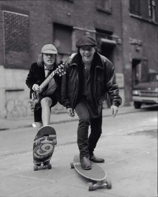 Angus and Brian (the rolling thunder)
