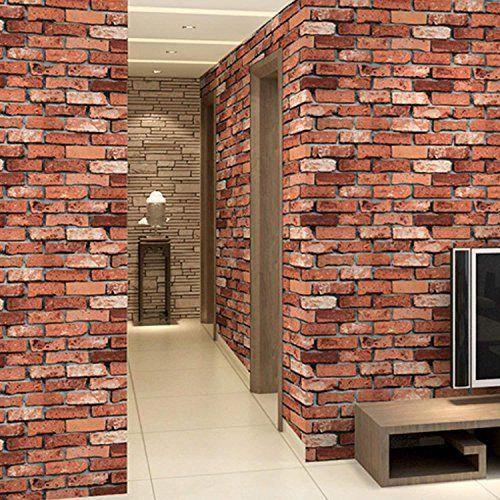 Discounted Red Foam Brick Wall Panels 3d Foam Brick Peel And Stick Wallpaper Self Adhesive Removable Wall Decor Brick Wall Paneling Brick Wallpaper Faux Brick