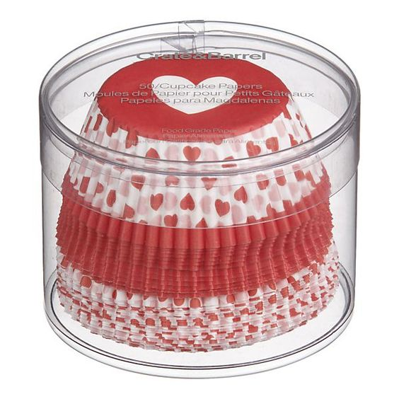 cupcake liners from Crate&Barrel