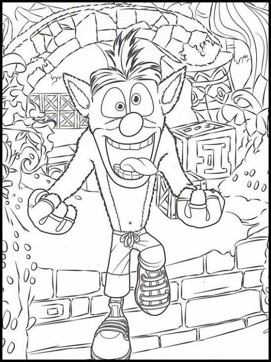 Quiz How Much Do You Know About Crash Bandicoot Coloring Pages Crash Bandicoot Coloring Pages Coloring Pages Crash Bandicoot Lego Coloring Pages