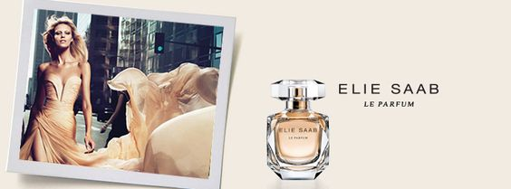 A bottle of Elie Saab Le Parfum.