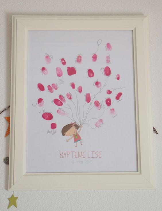 D co and roses on pinterest for Decoration bapteme fille