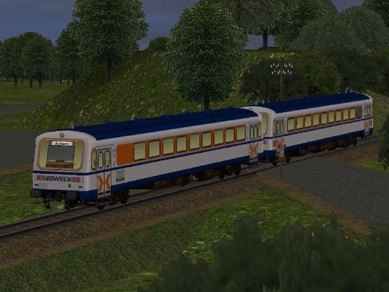 Triebwagen NE81 VT125+VS204 der SWEG