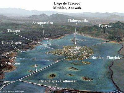 CONOCER MÉXICO POCO A POCO: - El lago Texcoco, ayer y hoy