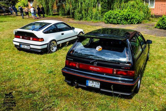 #Honda #CRX #Civic