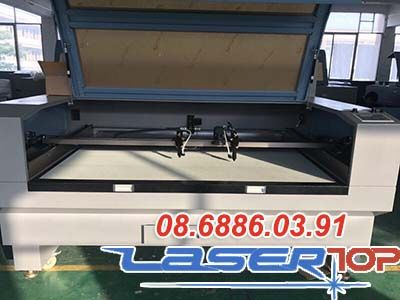 Máy Cắt Khắc Laser 2 Đầu Cắt (Khổ 600x400mm)