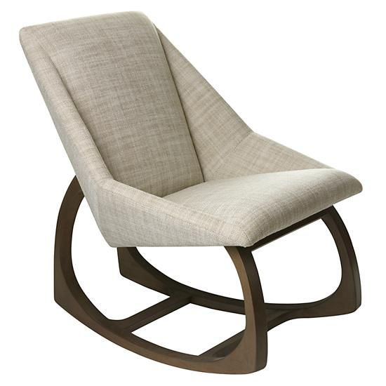 ... rocking chair (its just 28 inches wide) with the cushiness of an