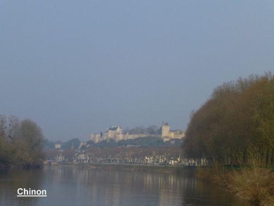 Castle Forteresse royal de Chinon, Touraine Loire Valley, France