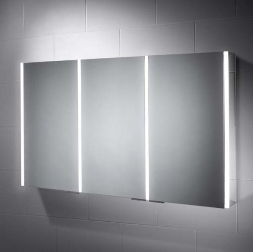 Sienna Led Illuminated Bathroom Cabinet Mirror With Shaver Socket Bathroom Cabinets With Lights Unique Bathroom Mirrors Illuminated Bathroom Cabinets