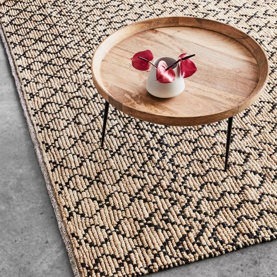 Luna Round Coffee Table Natural 740x420 Mm Round Coffee Table