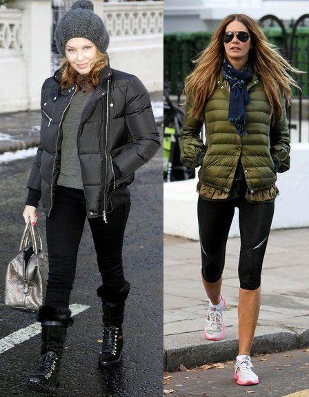 Winter fashion, Puffer jackets and Winter on Pinterest