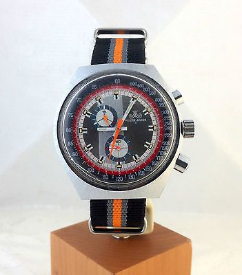 meister anker germany vintage chronograph cal eb 8420 as valjoux 7733 watch uhr watch stylish. Black Bedroom Furniture Sets. Home Design Ideas