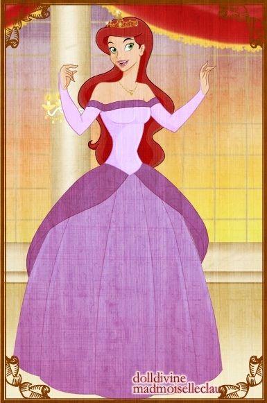 ariel purple dress disney movies amp characters